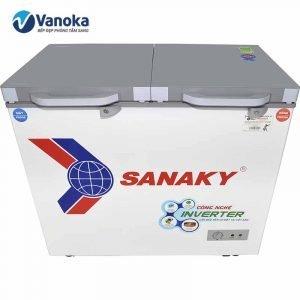 Tủ đông Sanaky Inverter VH-4099W4K 280 lít