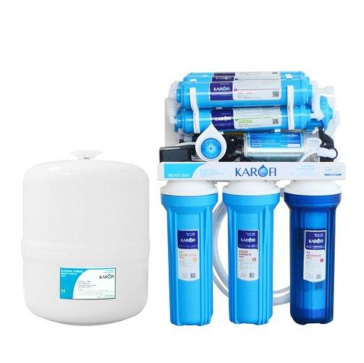 Thông số kỹ thuật Máy lọc nước tiêu chuẩn sRO Karofi KSI90-A 9 cấp lọc