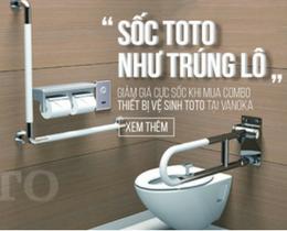 Khuyến mãi thiết bị vệ sinh TOTO – Sốc như trúng lô thumbnail