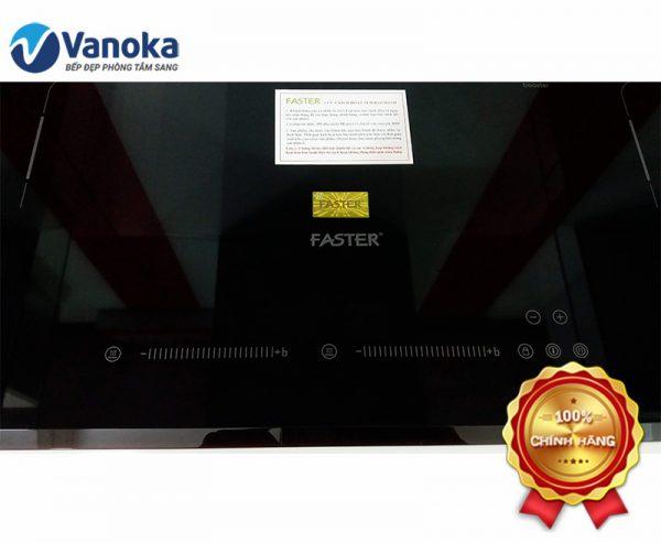 Bảng điều khiển các chức năng trên bàn phím bếp từ Faster FS-744M