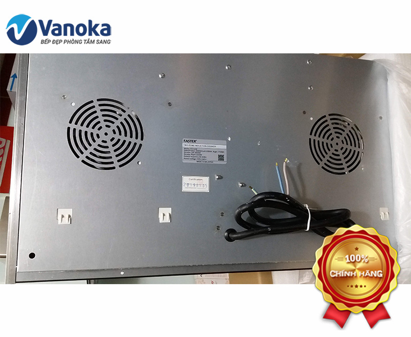 Bụng bếp từ Faster FS-744M sơn tĩnh điện cực bền
