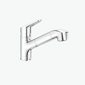 Vòi rửa bát Inax nóng lạnh đa năng JF-AB466SYX (JW)