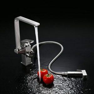 Vòi chậu rửa bát Moonoah inox 304 MN-603