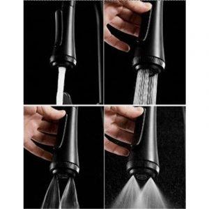 Vòi rửa bát Moonoah tích hợp 4 chức năng xả nước mới