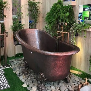 Bồn tắm chất liệu đồng