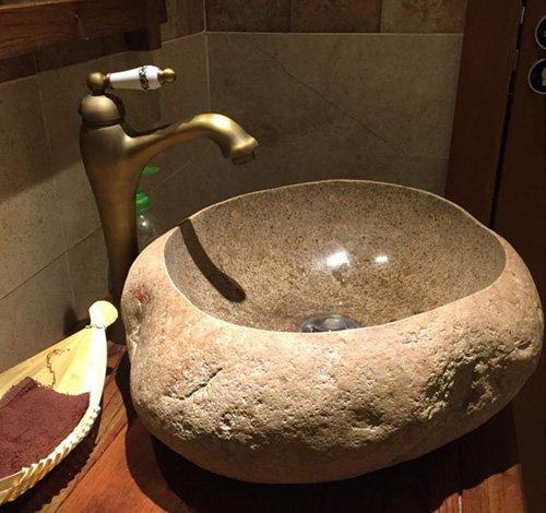 chậu rửa mặt lavabo đá