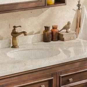 Vòi lavabo chất liệu đồng