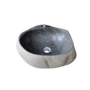 Chậu rửa mặt lavabo đá cuội tự nhiên R15H