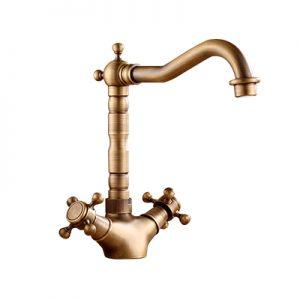 Vòi nước rửa mặt lavabo bằng đồng GCC05