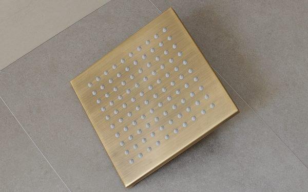Bát sen vuông bằng đồng GCK92