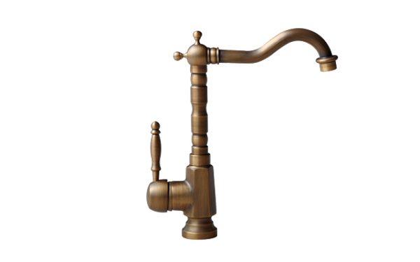 Vòi rửa bát cổ điển bằng đồng GCC04